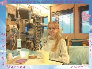Monika po przeszczepie